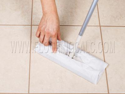 Flooring Calculator - How to Clean Tile Floors