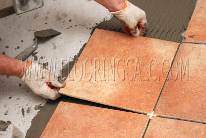 Flooring Calculator - How to Install Tile Flooring